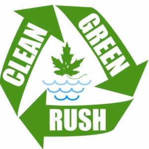 Clean Green Rush logo